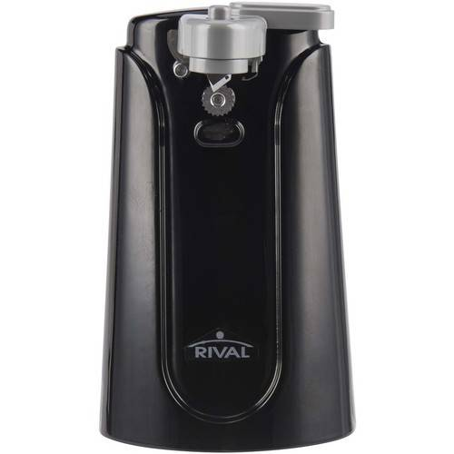 Rival Electric Can Opener Black Walmartcom