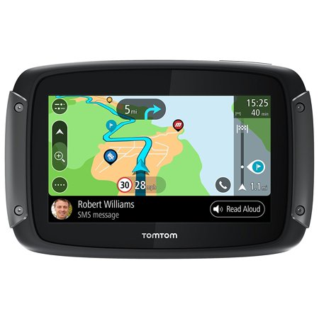 Tomtom RIDER 550 Motorcycle GPS Navigator - Black - Mountable (Tom Tom Truck Gps)