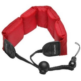Olympus Floating Foam Camera Strap - Red (202212_2)
