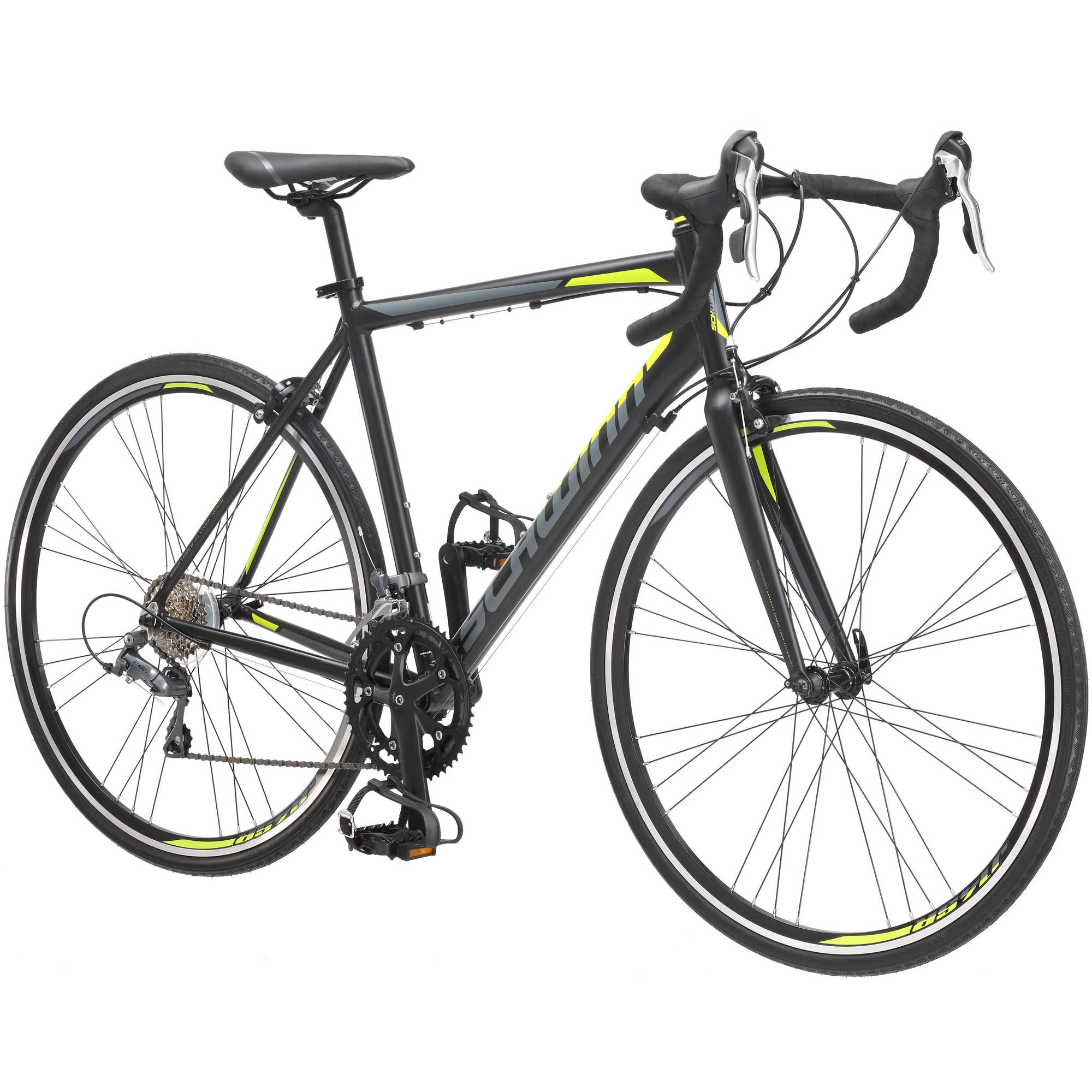 700C Schwinn Phocus 1600 Road Bike, Matte Black