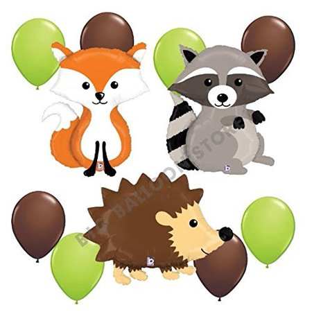 Woodland Critters 11pc Balloon Party - Woodland Fairy Party