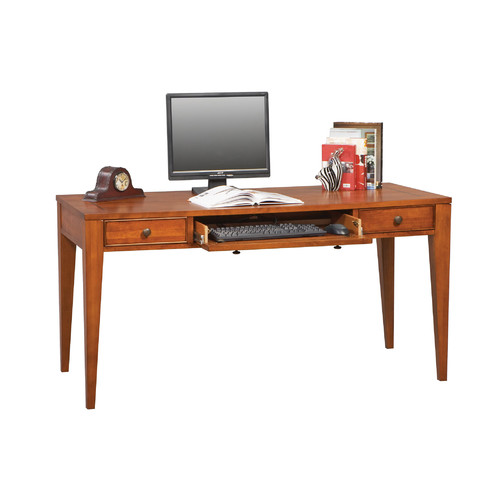 Alcott Hill Chester Writing Desk With Keyboard Tray