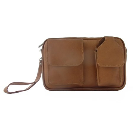 Piel Leather Carry-All Bag - Saddle