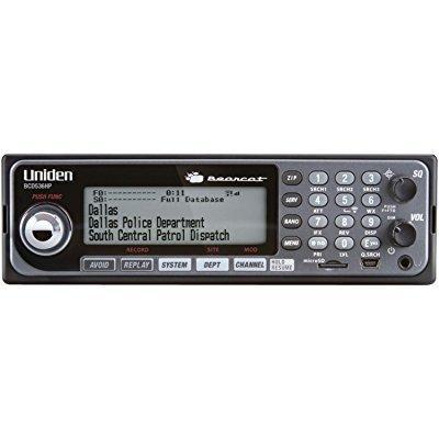 Uniden bcd536hp digital phase 2 base/mobile scanner with ...