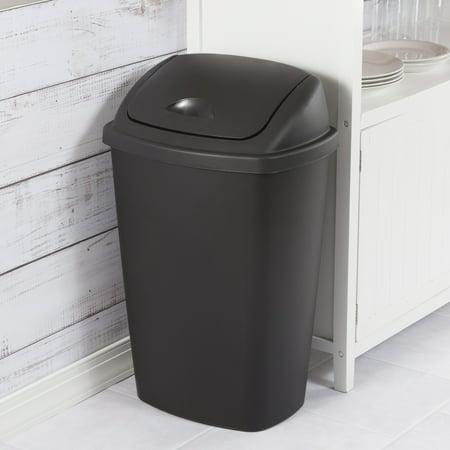 Medium Wastebasket (Sterilite, 13.2 Gal./50 L SwingTop)