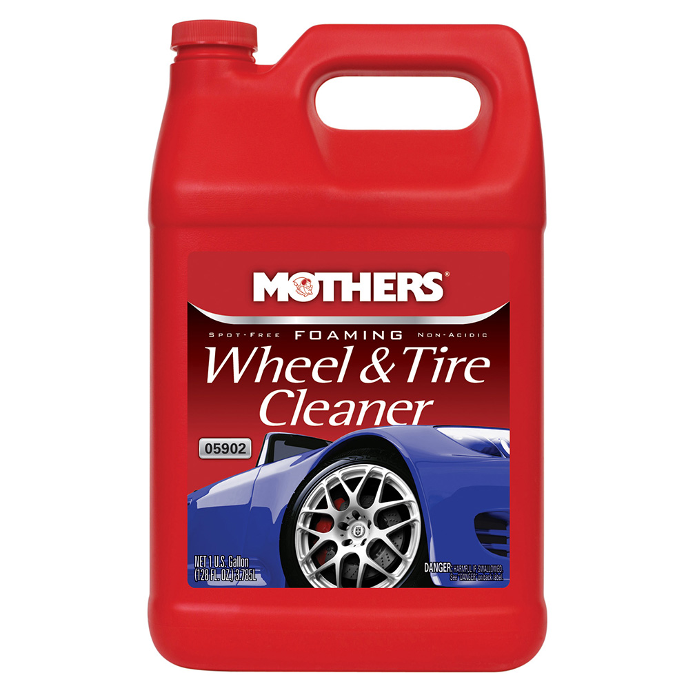 Mothers 05902 Foaming Wheel & Tire Cleaner 1 Gal.