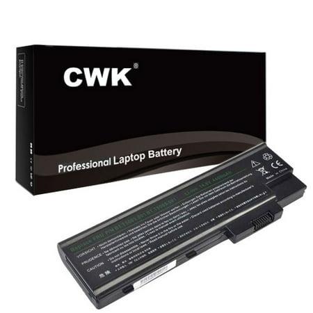 401 Notebook - CWK Long Life Replacement Laptop Notebook Battery for Acer Aspire SQU-401 1413LM 1413LMi 1413WLMi 1414 1414L 1414LC 1414LM 1414LMi 1414WLCi 1414WLMi 1415 1415LMi 1640LC 1640