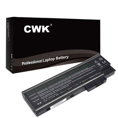 CWK Long Life Replacement Laptop Notebook Battery for Acer Aspire 4020 4060 4100 3000 5000 1680 1690 1642WLMi 1681LCi 1681LMi 3000 5000 5510 BTP-AS1681 3001WLCi 3001WLMi 3002LC