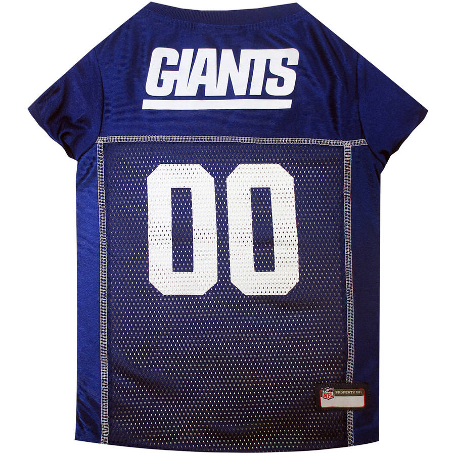 Pets First NFL New York Giants Pet Jersey