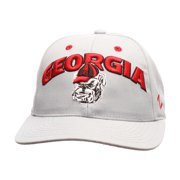 "Georgia Bulldogs NCAA Zephyr ""Signature Gray"" Structured Adjustable Hat"