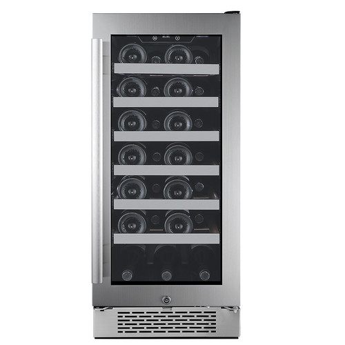 Avallon 27 Bottle Single Zone Built-In Wine Cooler