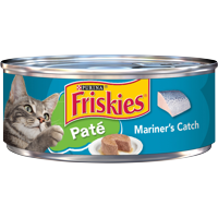 Friskies Pate Wet Cat Food, Mariner's Catch, 5.5 oz. Can