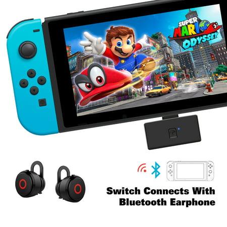 AGPtek Wireless Audio Transmitter Receiver for Nintendo Switch, PS4, PC, Earphone Headset Speaker