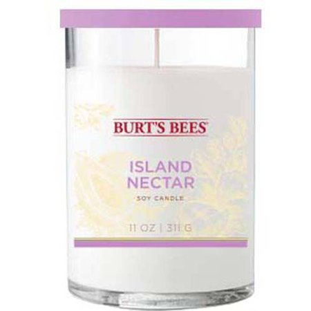 406aa6c6a Burt s Bees 11 oz Island Nectar Candle - Walmart.com