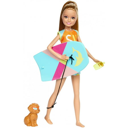 Barbie Dolphin Magic Stacie Doll with Puppy & Color-Change