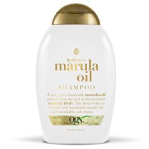 Shampoo & Conditioner: OGX Marula Oil