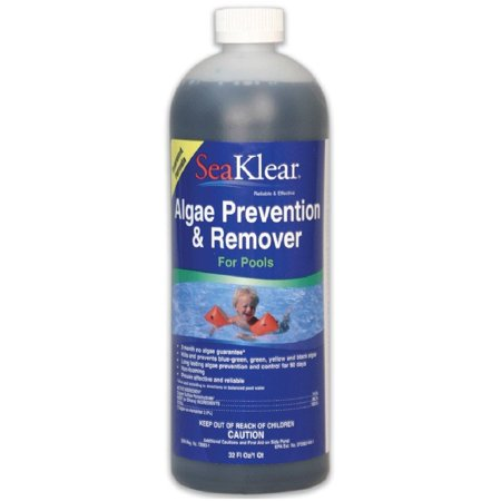 SeaKlear SKABQ 90 Day Algae Prevention and Remover 1-Quart SKA-B-Q