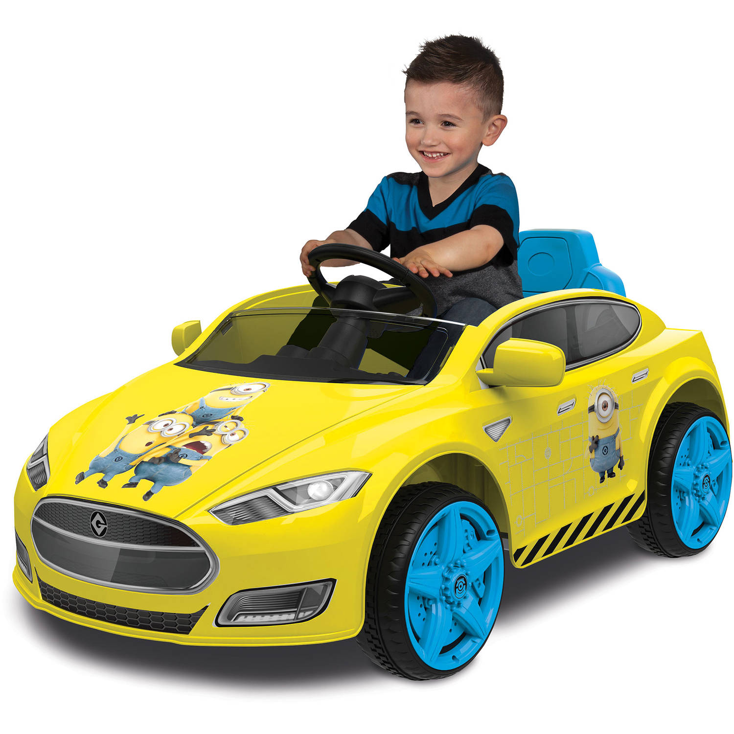 Minions Speed Coupe 6-Volt Battery-Powered Ride-On