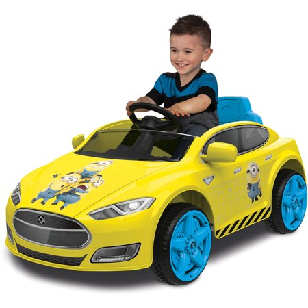 Minions Speed Coupe 6 Volt Battery Powered Ride On