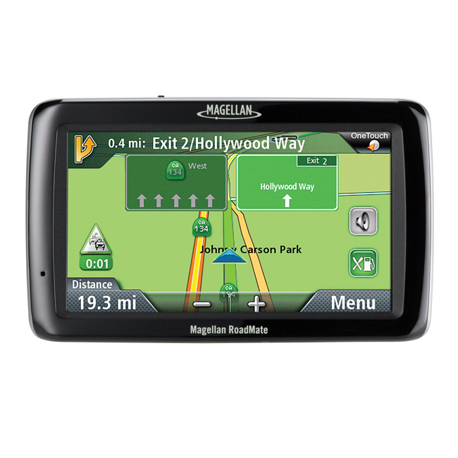 "Refurbished Magellan Roadmate 5045-LM 5.0"" Touchscreen Portable GPS Navigator w/Maps Update"