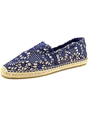 5a1b2292a8 Product Image Joy   Mario Women s Shoes Crochet Fashion Canvas Slip On  Casual Navy