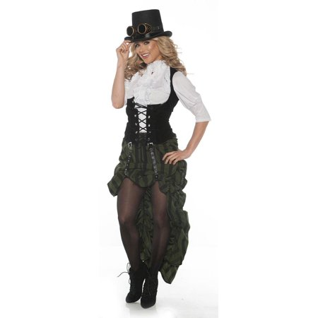 Steam Punk Women's Adult Costume - Punk Rock Halloween Costume Ideas
