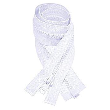 Zipperstop Wholesale YKK® YKK Vislon Zipper #3 Molded Plastic Separating 16