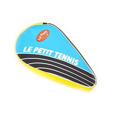 Le Petit Tennis - Tennis Racquet Thermo Cover Bag 3 Pack Bag Blue-yellow (For Ages 2-3-4-5-6)