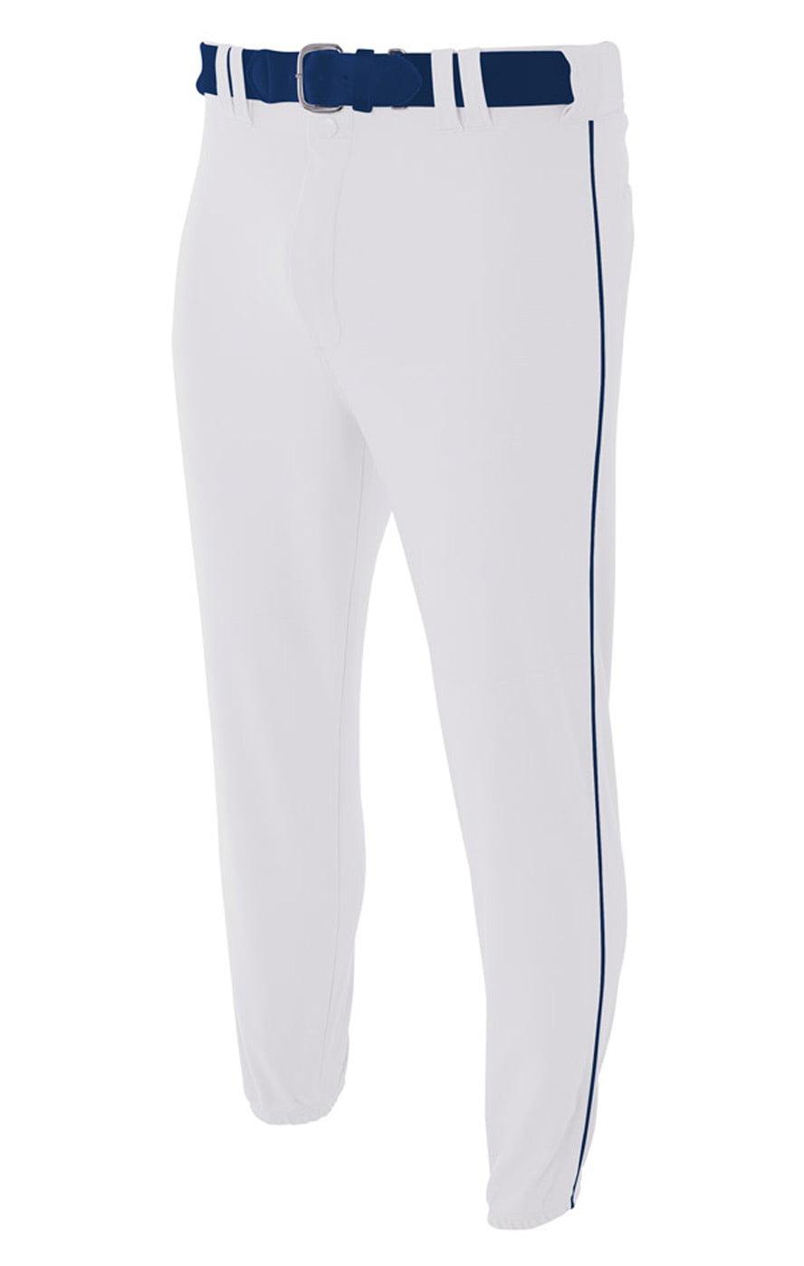 Pro Style Elastic Bottom Baseball Pant by A4