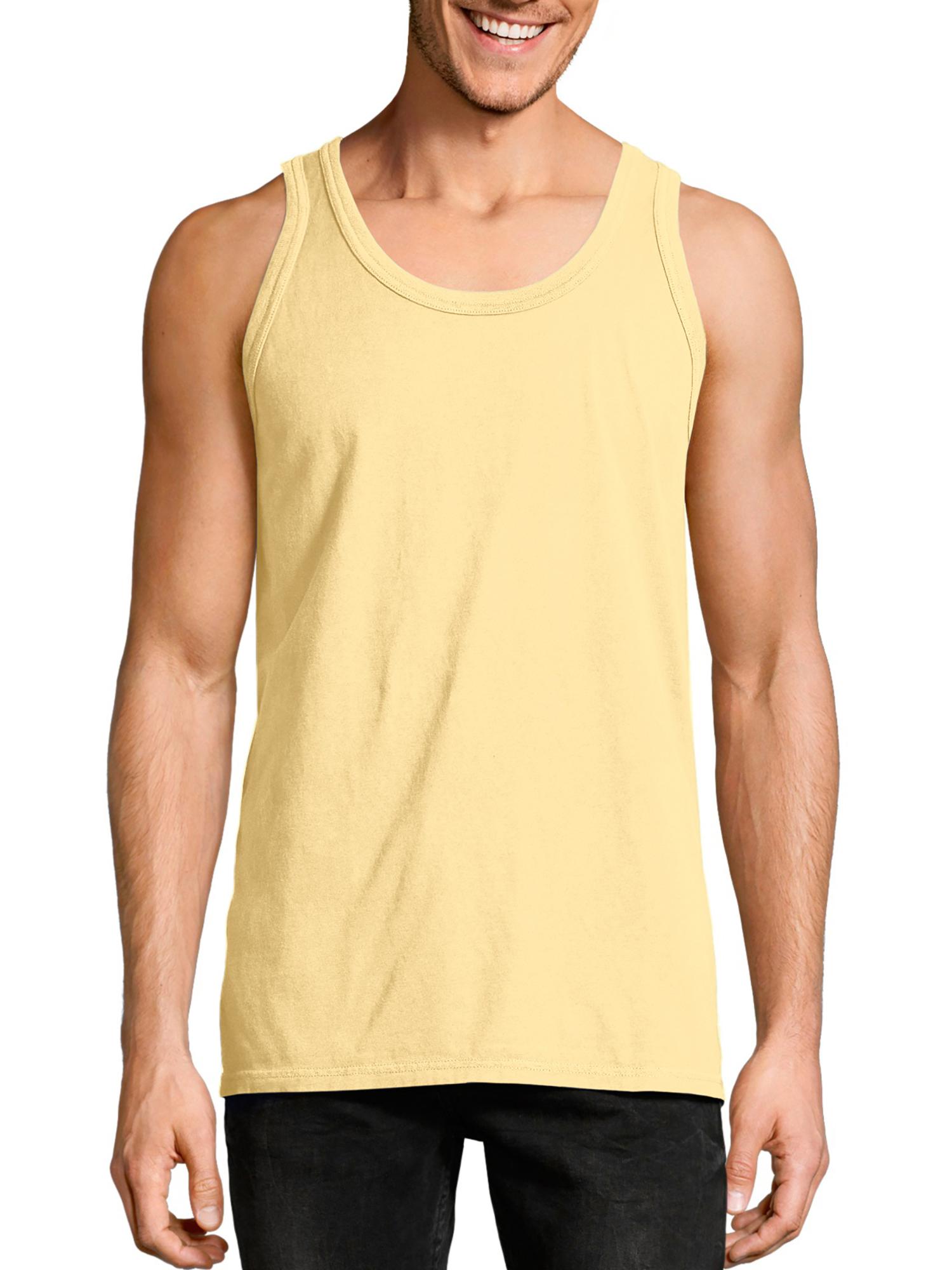 Big Men's ComfortWash Garment Dyed Sleeveless Tank Top