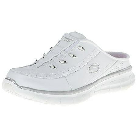 c5b87cf5e629 Skechers - Skechers Womens Synergy-Elite Glam Leather Memory Foam Fashion  Sneakers - Walmart.com