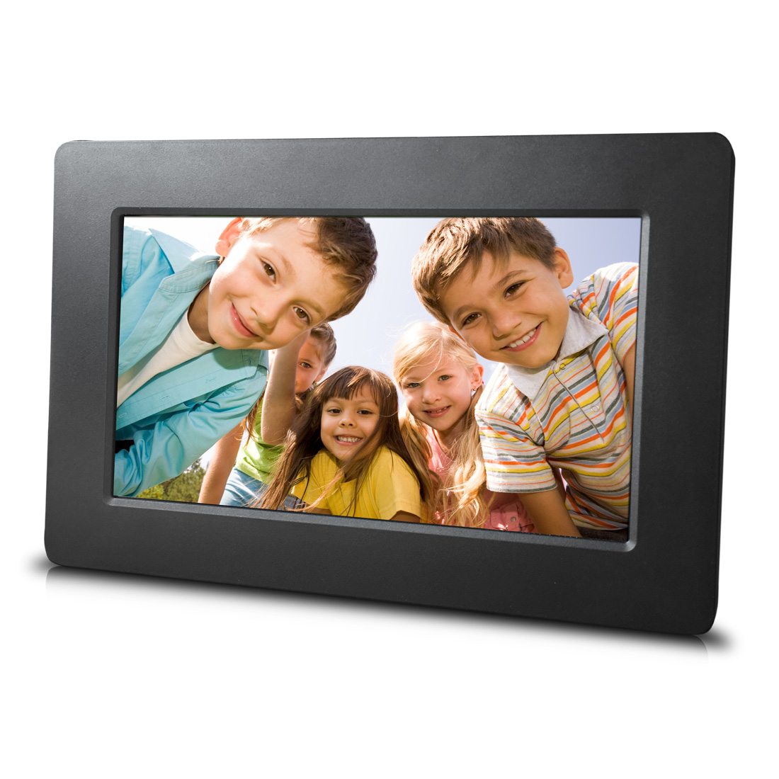 16 9 LED 15.4 Inch HD Multi-Function 1280800 Digital Photo Frame Music Movie Player with Remote Controller Black US Plug Digital Photo Frame
