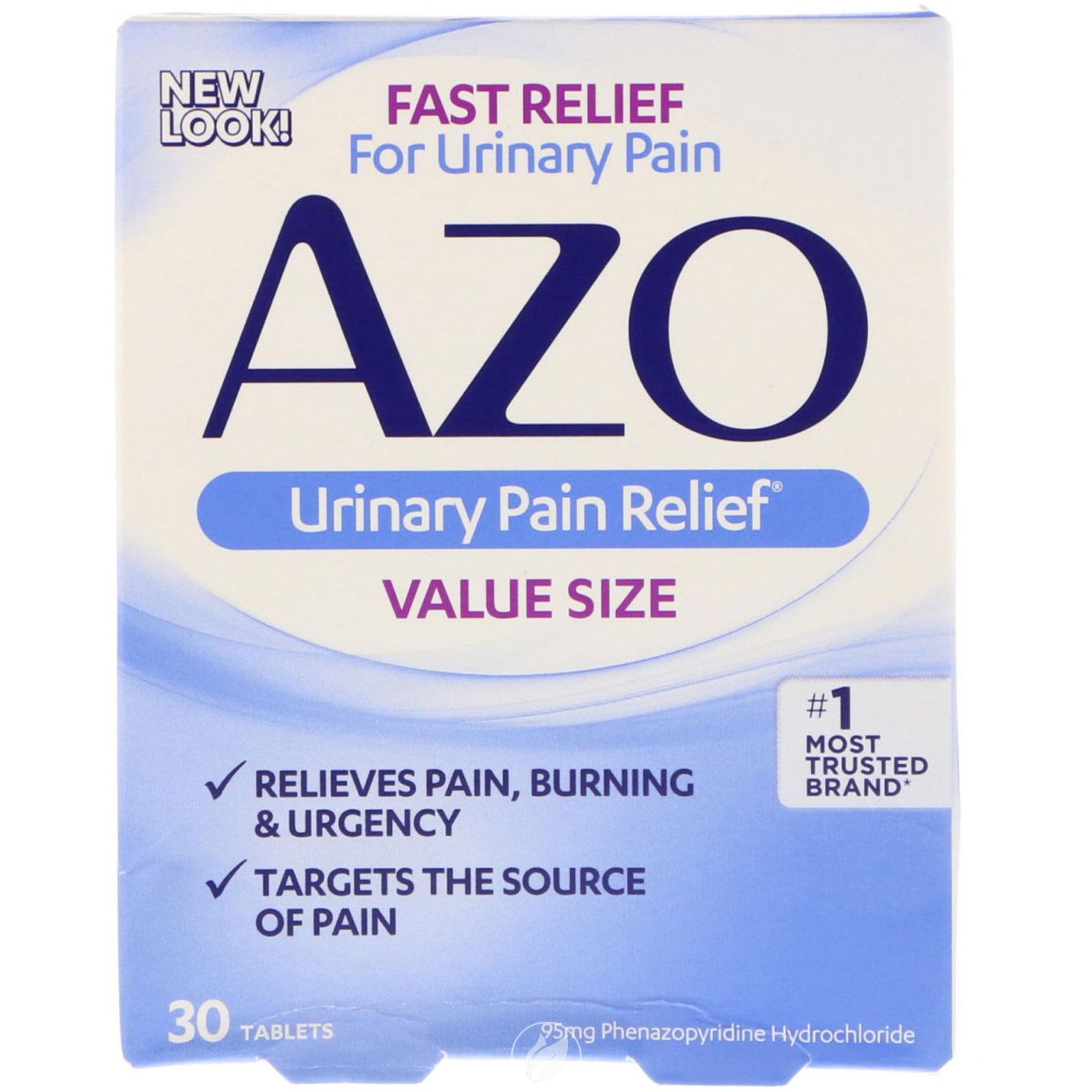 Azo Standard Maximale Stärke Tabletten Für Harn Schmerzen