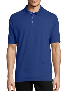 Hanes Men's X-Temp Short Sleeve Polo Shirt