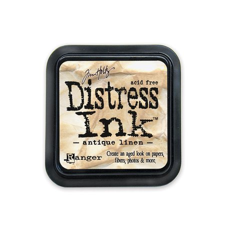 Pad Antique Linen (Tim Holtz Distress Ink antique linen, pad (pack of 3) )