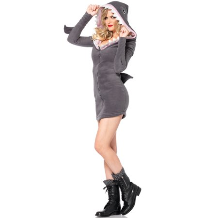 Leg Avenue Cozy Shark Adult Halloween - Shark Eating Person Costume