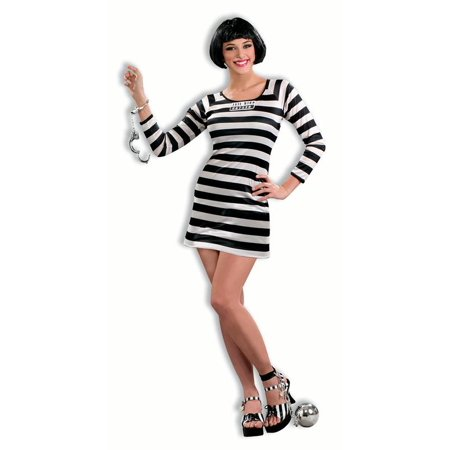 Jail Bird Costume Dress Adult Women