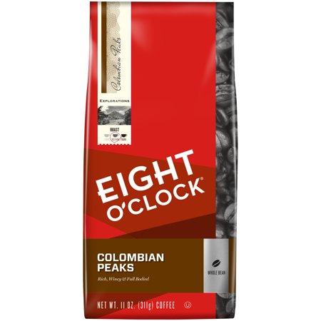 Eight O'Clock® 100% Colombian Peaks Whole Bean Coffee 11 oz. Bag