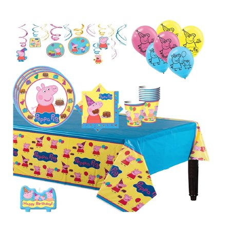 Peppa Birthday Party (Peppa Pig Mega Birthday Party Kit for)