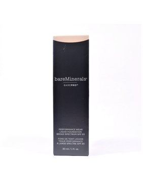Bareminerals BarePRO Performance Wear Liquid Foundation SPF 20, 1 Oz