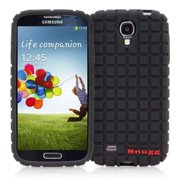 Snugg B00CS1BXVE Samsung Galaxy S4 Squared Skinny Fit Protective Cover, Black