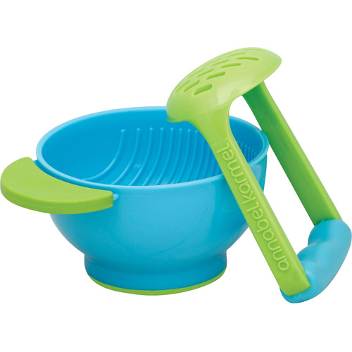 NUK Mash and Serve Bowl for Making Homemade Baby Food, BPA-Free