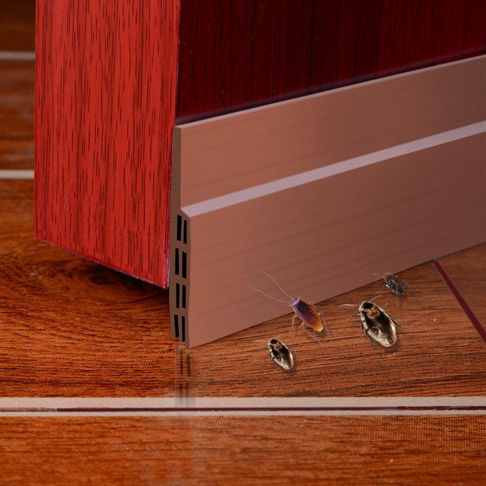 Juslike Door Draft Stopper Under Door Seal Sweep Insulator