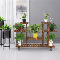 Yaheetech 4-Layer Wooden Flower Stand
