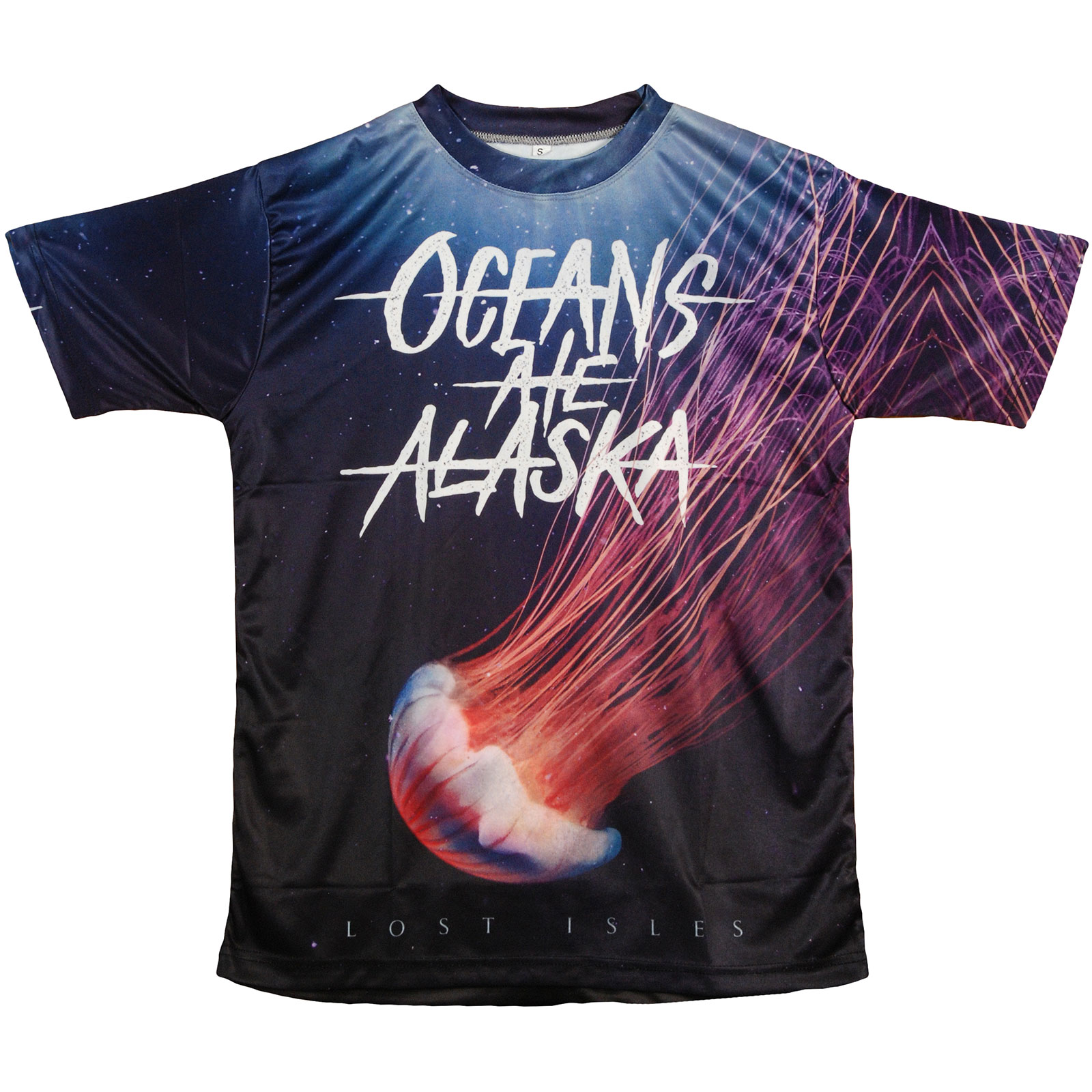 Oceans Ate Alaska Oceans Ate Alaska Mens Lost Isles Sublimation T