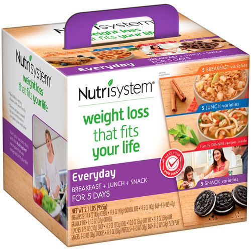 Nutrisystem Everyday 5 Day Weight Loss Kit