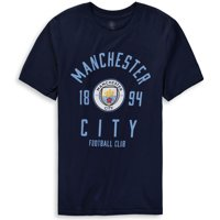 Manchester City Youth Last Touch T-Shirt - Navy