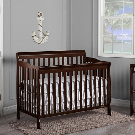 18126615c31 Dream On Me Ashton 5-in-1 Convertible Crib - Walmart.com