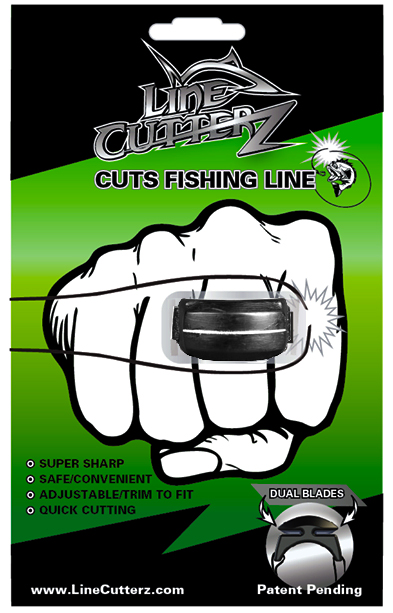 Line Cutterz A Patented Adjustable Ring That Cuts Fishing Line AS SEEN ON SHARK TANK by Line Cutterz, LLC.