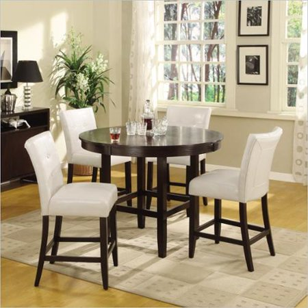 Piece 48 Inch Round Counter Height Dining Table Set